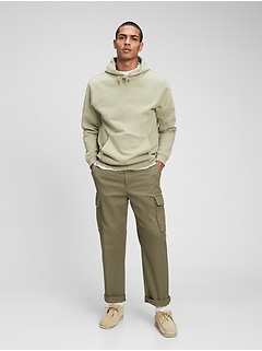 Relaxed Taper E-Waist Cargo Pants with GapFlex