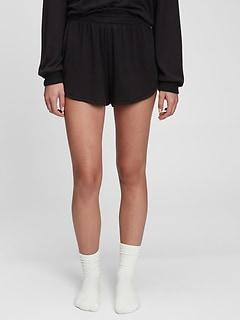 Softspun Smocked Shorts