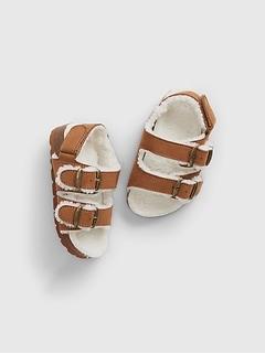 Toddler Cozy Cork Buckle Sandals