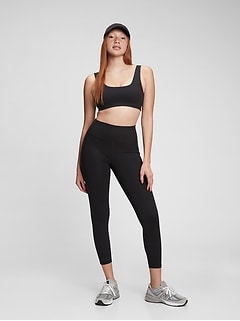 GapFit High Rise Power Compression Recycled 7/8 Leggings
