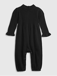 Une-pièce en tricot côtelé pour Bébé