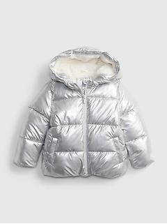 Toddler Metallic ColdControl Max Puffer Jacket