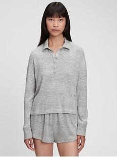 Softspun Henley Polo T-Shirt