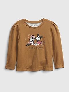 babyGap   Disney Minnie Mouse Puff Sleeve Graphic T-Shirt