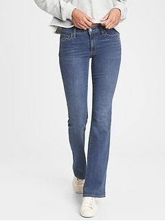 Mid Rise Perfect Boot Jeans With Washwell™