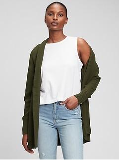 Open-Front Cardigan