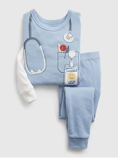 babyGap 100% Organic Cotton Doctor Print PJ Set