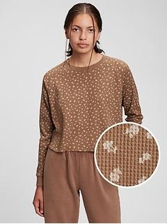 Teen Waffle-Knit T-Shirt
