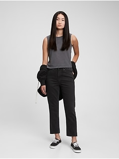 Teen High Rise Girlfriend Jeans with Washwell ™