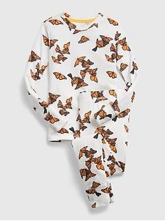 GapKids   National Geographic 100% Organic Cotton Butterfly PJ Set