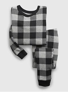 Pyjama 100% coton biologique à imprimé à gros carreaux babyGap