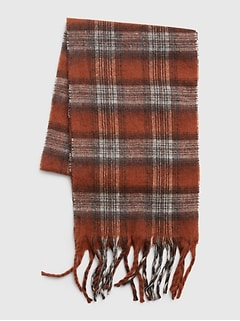 Recycled Cozy Scarf