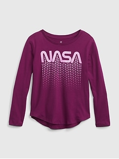 GapKids   Nasa 100% Organic Cotton Graphic T-Shirt