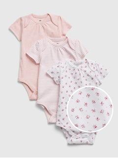 Cache-couche 100% coton biologique pour Bébé (paquet de3)