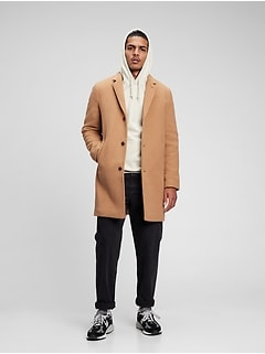 Recycled Wool Coat