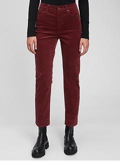 Jean Vintage étroit taille haute avec poches lissantes Washwell™