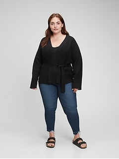 Supersoft Wrap-Front Cardigan